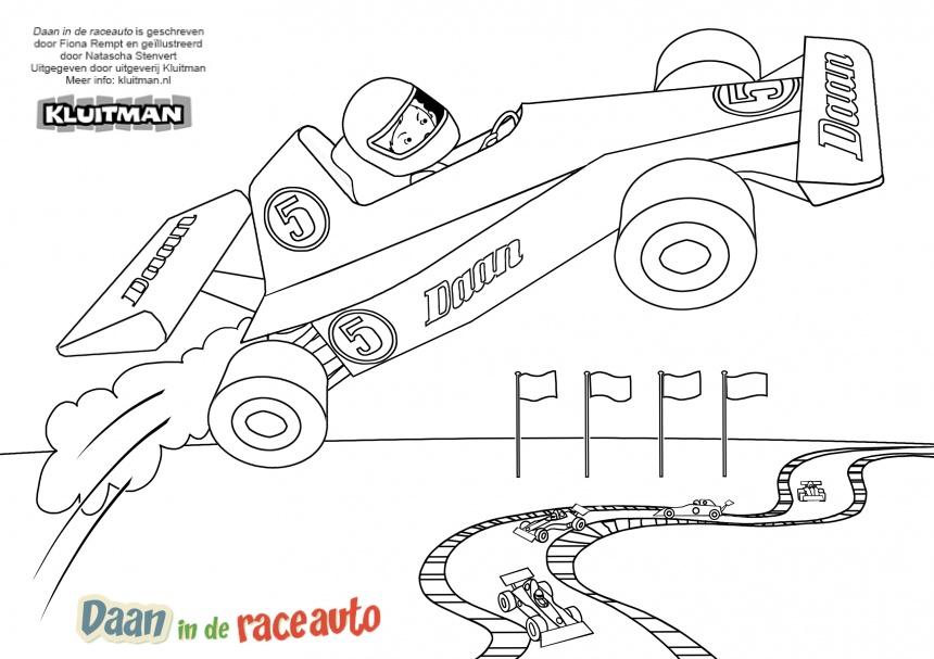 Kleurplaat Formule 1 Idee 235 N Over Kleurpagina S Voor Kinderen